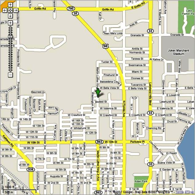 fl orange blossom table tennis series map and directions